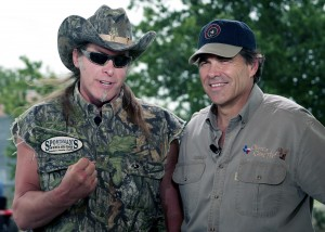 Ted Nugent, Rick Perry